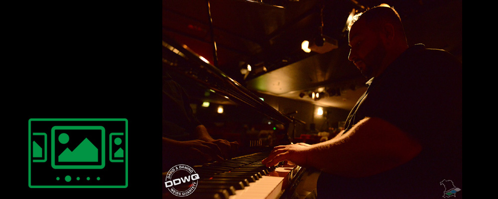 Das slideshow-Fenster anzeigen ...  TRUE LIVE :: David & Danino Weiss Quartett :: featuring Biboul Darouiche - Alexander Haas - Guido May :: Straubing 2020